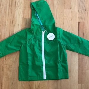 Other - Boys Girls 2t Slicker Raincoat NWT hood lined